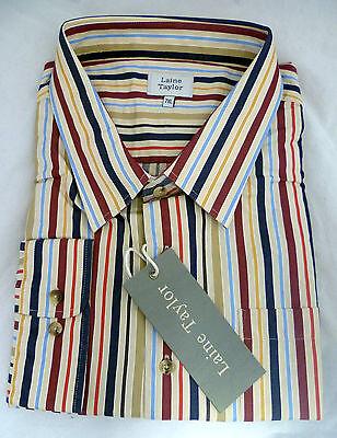 Laine & Taylor Vintage Striped Shirt - 8XL - Box64 50 B