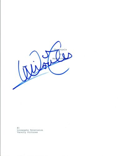 William Moseley Signed Autographed THE ROYALS Pilot Episode Script COA