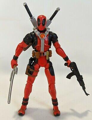 "Marvel X-Men Origins Wolverine: DEADPOOL 3.75"" inch Figure LOOSE Hasbro"