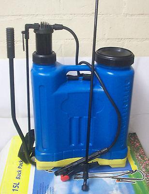 4 Gallon Lawn and Garden Backpack Sprayer ...