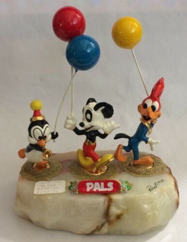 "Ron Lee Walter Lanz/Woody Woodpecker ""PALS"" Signed Ltd Edition #12/1750 MINT"