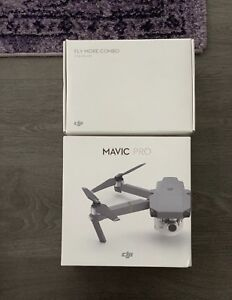 DJI MAVIC PRO DRONE FLY MORE BUNDLE 2017 used