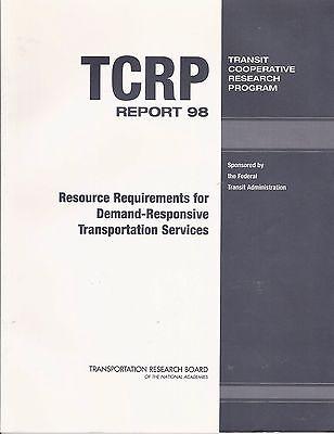 TCRP RESOURCE REQUIREMENTS DEMAND