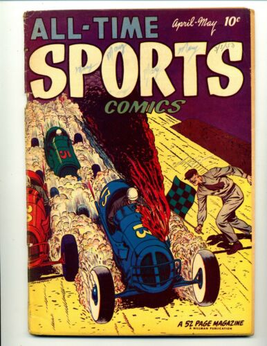 All-Time Sports Comics #4    Hillman 1949