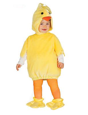 Niedliches Küken-Babykostüm für Karneval und Ostern gelb-orange - Küken Kostüm Für Babys