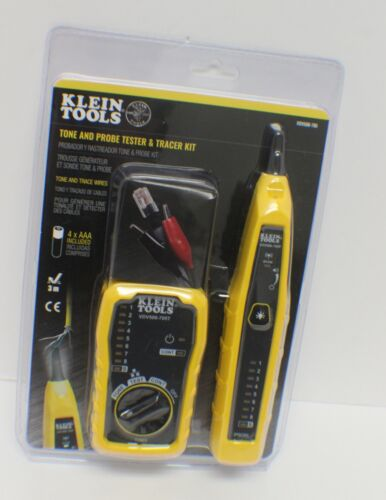 Klein VDV500-705 Tone and Probe Testing/Tracing Kit  - NEW - SEALED