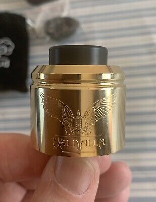 Valhalla 38mm RDA in Gold - Mech / Vape