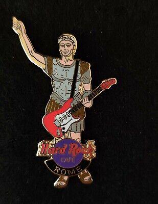 Hard Rock Cafe Pin - Rome, Roman Soldier holding Guitar segunda mano  Embacar hacia Mexico