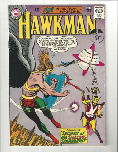 Hawkman #2 5.0 (W) VG/FN DC Comics 1964 Silver Age