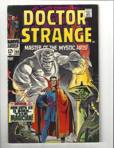 Doctor Strange #169 7.0 (W) FN/VF 1st Doctor Strange Solo Title Marvel 1968