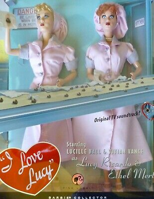 "I Love Lucy ""Job Switching"" Lucy Doll and Ethel Giftset Episode 39 L9585 NRFB"
