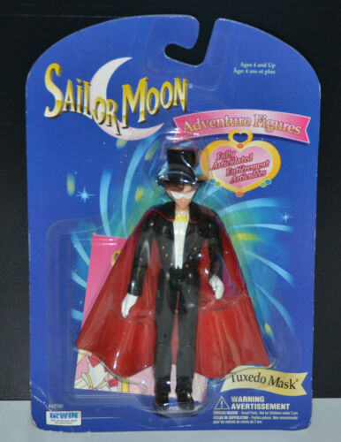Tuxedo Mask Sailor Moon articulated adventure figure vintage Irwin 1997