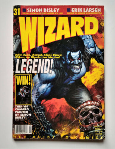 Wizard Game Guide #31 The Guide To Comics March 1994 Legend No Card Lobo Variant