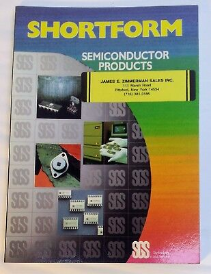 Руководство 1985 SGS Semiconductor Products -