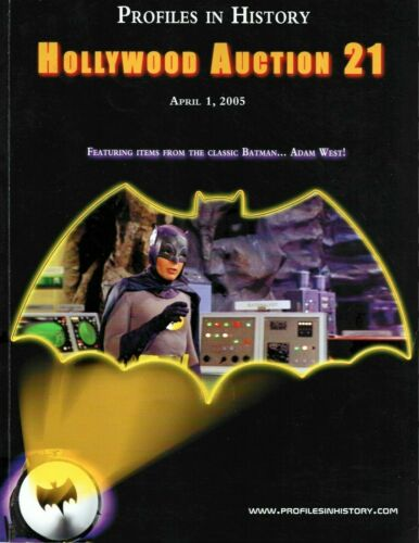 HOLLYWOOD AUCTION CATALOG-ITEMS FROM BATMAN,KING KONG,STAR WARS,ETC 153 PAGES