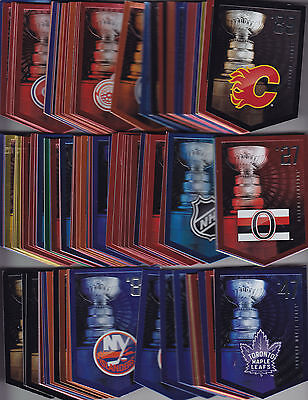 2011 2012 Panini Molson Coors Light Stanley Cup Banner   You Pick 7   Over 135