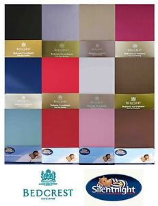Luxury-Super-King-Plain-dye-Bedding-Choice-of-Duvet-Cover-Fitted-Flat-Sheets