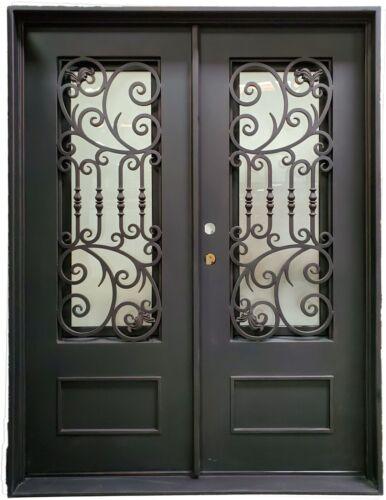 Saratoga 62x81 Double Iron Door-DS205