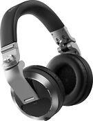 Pioneer DJ HDJ-X7-S - Professional Over-ear DJ Headphones (Silver)