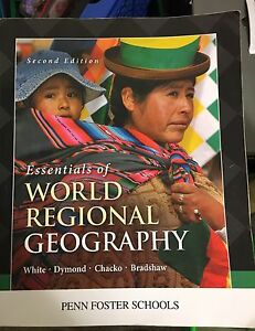 World Geography textbook