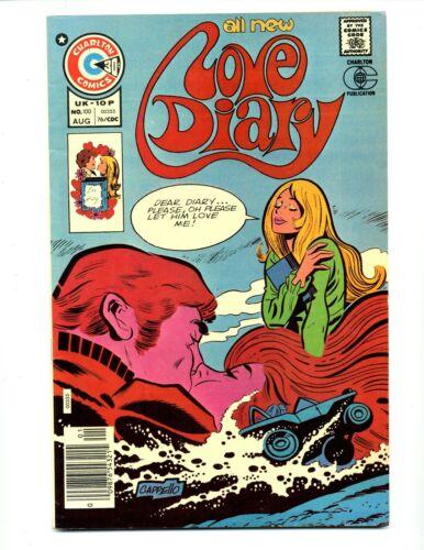 Love Diary #100    Charlton 1976