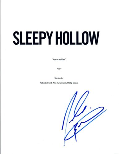 Nicole Beharie Signed Autographed SLEEPY HOLLOW Pilot Episode Script COA VD