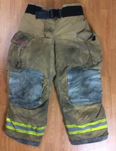Globe Gxtreme Firefighter Bunker Turnout Pants 36 x 28 2008