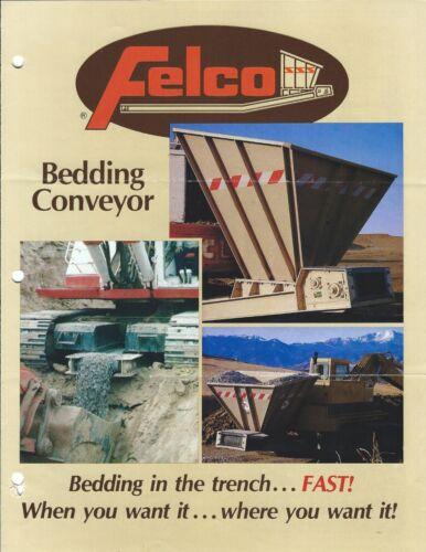 Equipment Brochure - Felco - Bedding Conveyor - Trench (E3867)