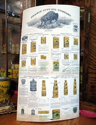 BUFFALO OIL COMPANY - POSTER - PRAIRIE CITY OIL ](Party City Buffalo)