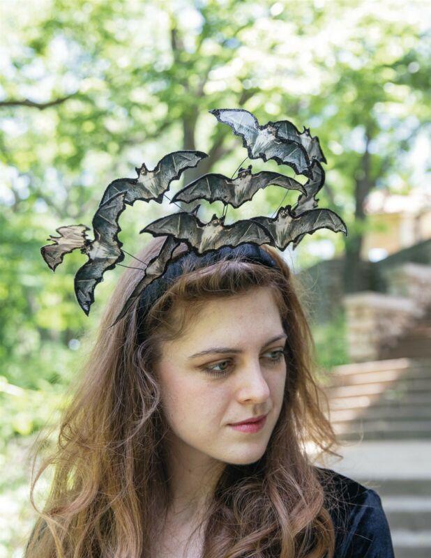 Victorian Trading Co Halloween Gone Batty Headband