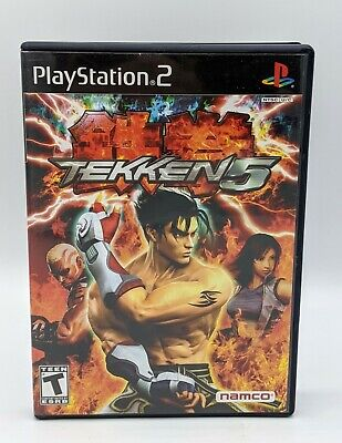 Playstation 2 PS2 Game Tekken 5 CIB Complete In Box Black Label