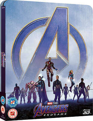 Avengers Endgame (3D/2D Blu-ray discs,SteelBook  2019) Ready to be shipped