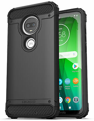 For Moto G7 Case Heavy Duty Military Grade Rugged Phone Prot