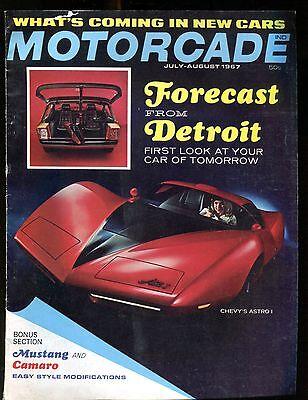 Motorcade Magazine July/August 1967 Chevy Astro VG No ML 010917jhe