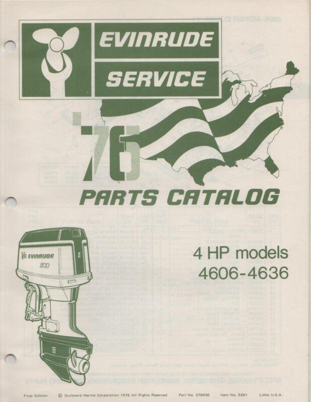 4hp Evinrude Service manual