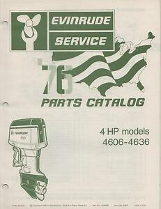 1976 6hp evinrude Manual