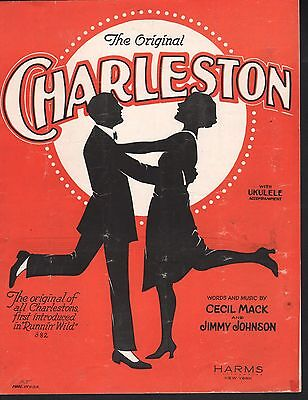 The Original Charleston 1923 Running Wild Sheet Music