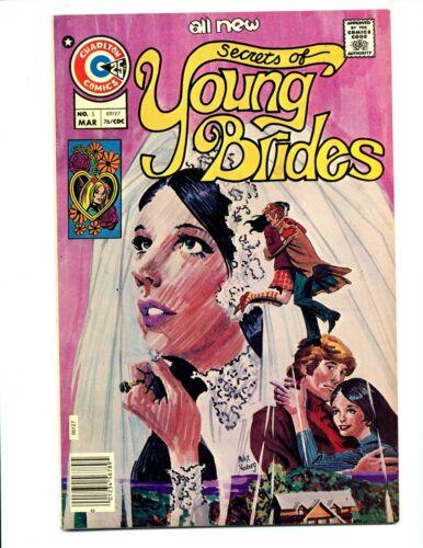 Secrets of Young Brides #5    Charlton 1976