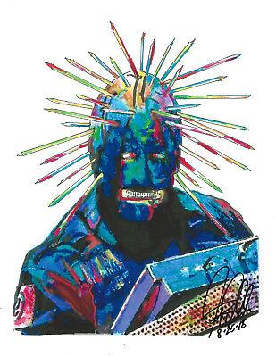 Craig Jones Slipknot Heavy Metal Thrash Music Print Poster Wall Art 8.5x11