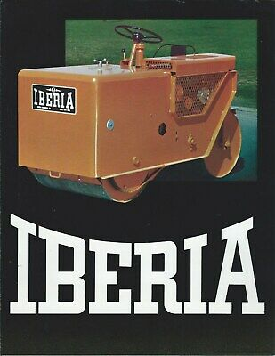 Equipment Brochure - Iberia - Roll-rite Rollers - Road Construction E5905
