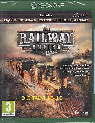 Railway Empire Xbox One Brand New Factory Sealed
