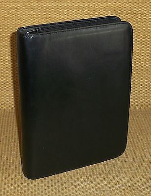 Classic 1.25 Rings Black Sim. Leather Timemax Plannerbinder Fits Franklin