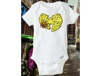 Baby shower, New Born, C.R.E.A.M., 36 Chambers Onesie Wu Tang Clan