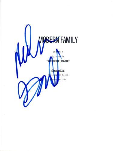 Nolan Gould Signed Autograph MODERN FAMILY Goodnight Gracie S4 E24 Script COA VD