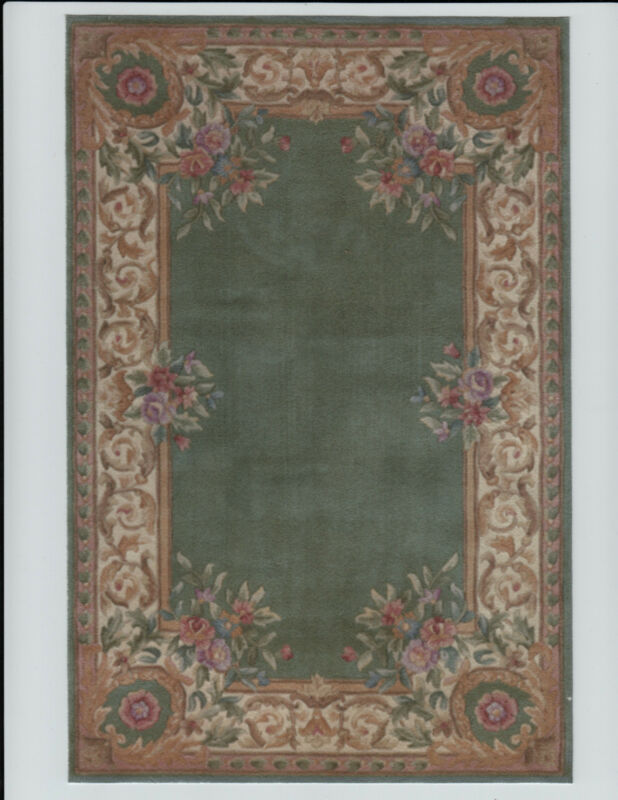 "1:12 or 1"" Scale Dollhouse Miniature Area Rug Approx. 5"" x 7-1/2"" - 0002519"