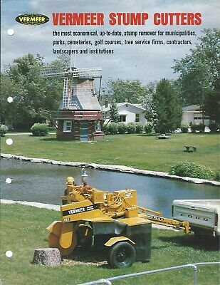 Equipment Brochure - Vermeer - 630a 665 1560 2465 Stump Cutters 3 Itemse5106
