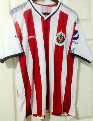 cad9921fc CHIVAS de Guadalajara Mexican Soccer Team Jersey Size 14 Youth New