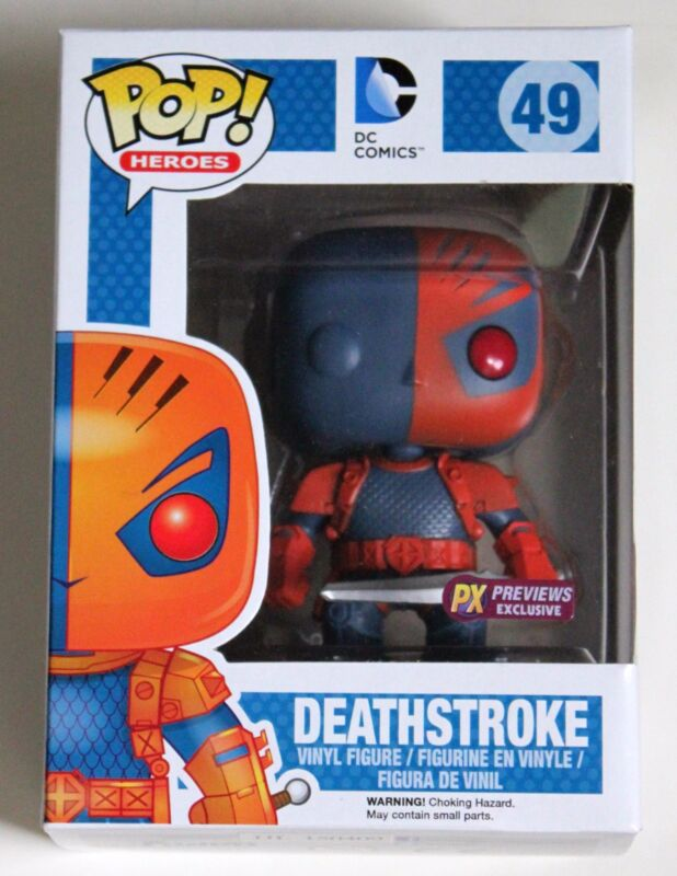 DEATHSTROKE FUNKO POP VINYL FIGURE PX PREVIEWS EXCLUSIVE CLASSIC DC RARE LTD