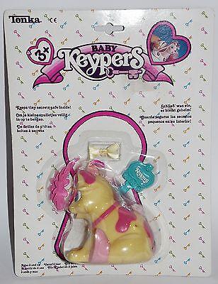 Keypers Baby Hund OVP 80er 90er Jahre Tonka Geheimfach Vintage Spielzeug
