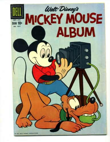 Four Color #1057    Mickey Mouse Album